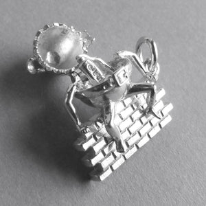 Sterling Silver Humpty Dumpty Charm Opens | Silver Star Charms