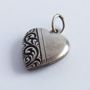 Vinage Sterling Silver Walter Lampl Heart Charm