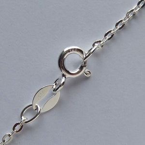 Classic link necklace chain sterling silver 925 or gold