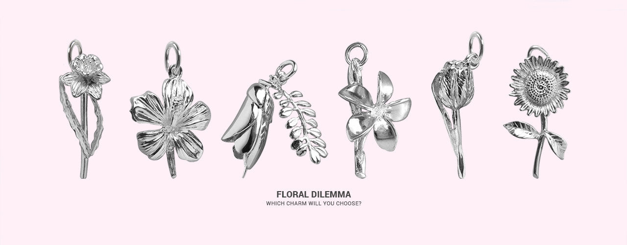 Floral Dilemma. Which charm will you choose