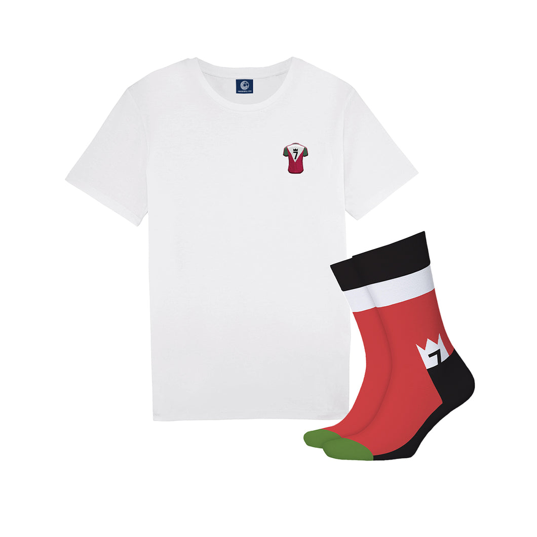 The Winning Machine Tee + Sock