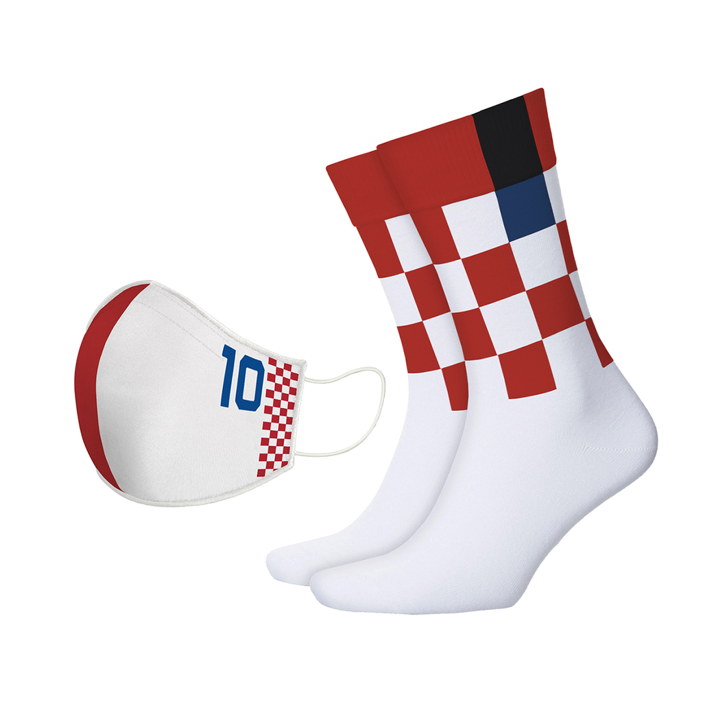 Cruyff of The Balkans Mask + Sock