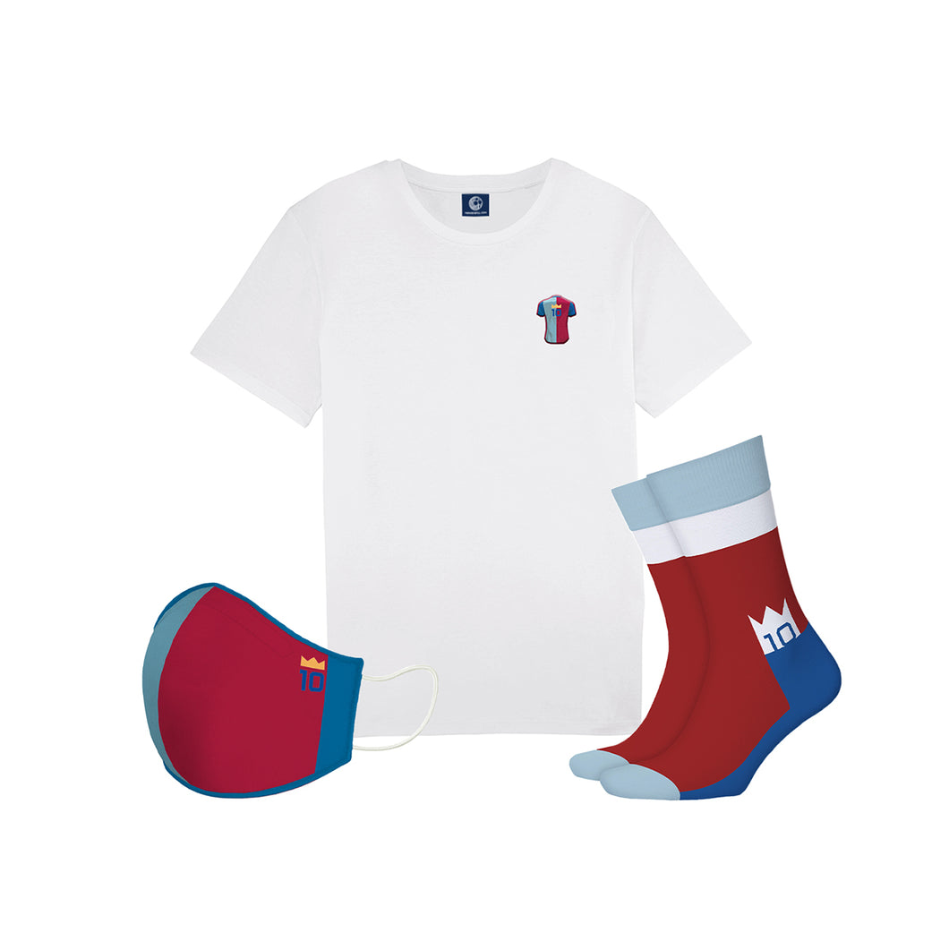 La Pulga Tee + Mask + Sock