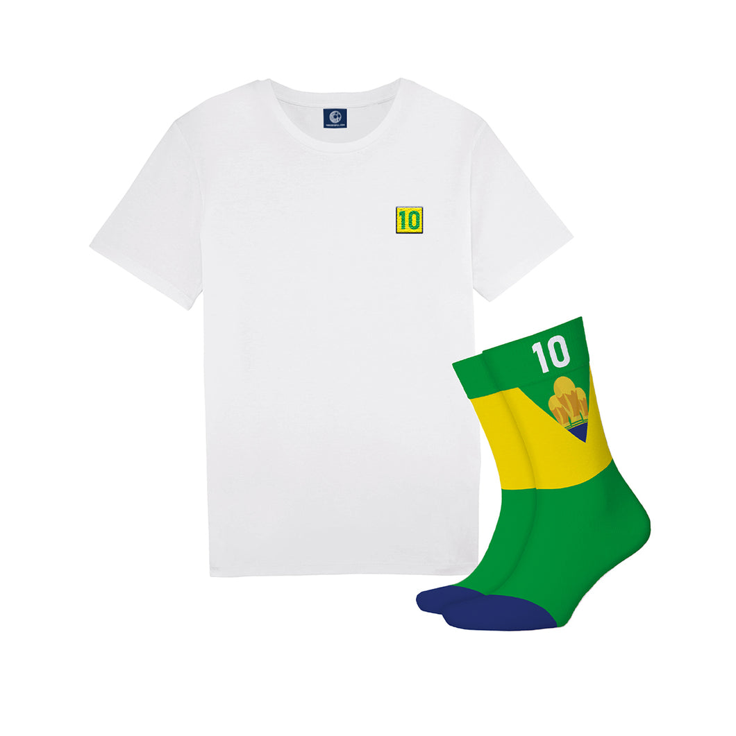 The Brazilian Legend Tee + Sock