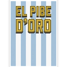 Load image into Gallery viewer, El Pibe d'Oro Mask Hat-Trick