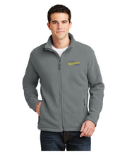 Load image into Gallery viewer, Fleece Jacket Saint John Vianney Logo