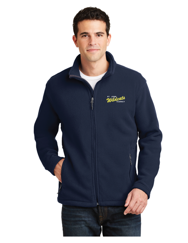 Fleece Jacket Saint John Vianney Logo