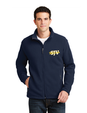 Load image into Gallery viewer, Fleece Jacket SJV Logo