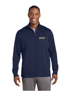 Sport-Tek® Sport-Wick® Fleece Full-Zip Jacket- Saint John Vianney Logo