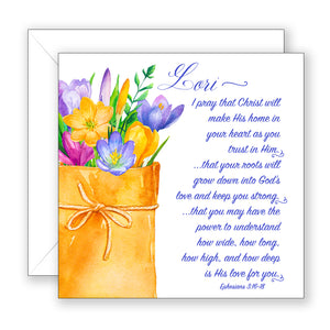 A Prayer for You - Personalized Birthday Card