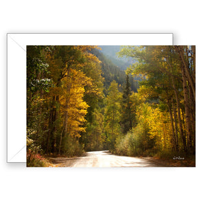 Autumn Afternoon - Sympathy Card