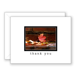 Autumn Treasure - Thank You Card