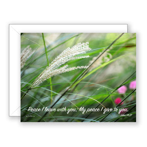 Blowin' in the Wind - Sympathy Card