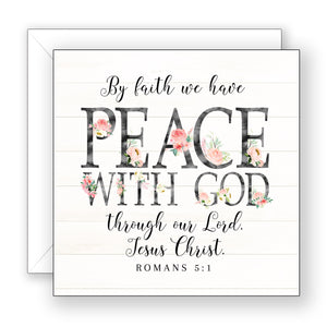 By Faith We Have - Encouragement Card