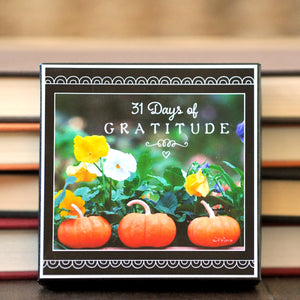 31 Days of Gratitude Boxed Mini Print Collection