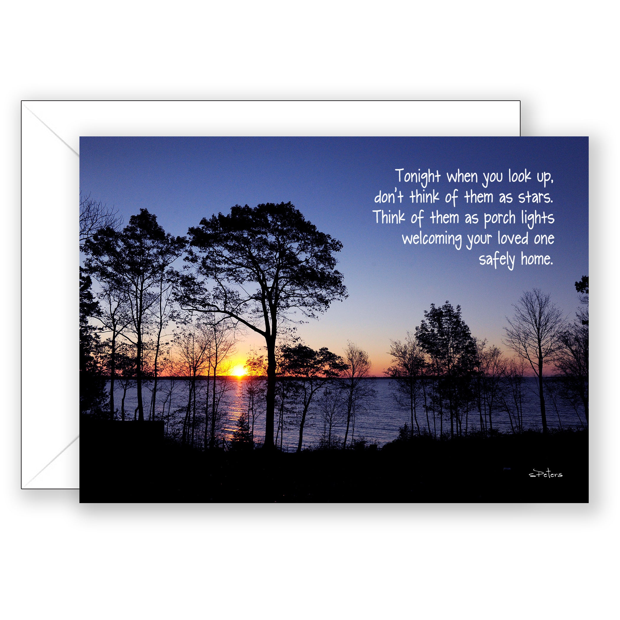Camden Sunrise  - Sympathy Card