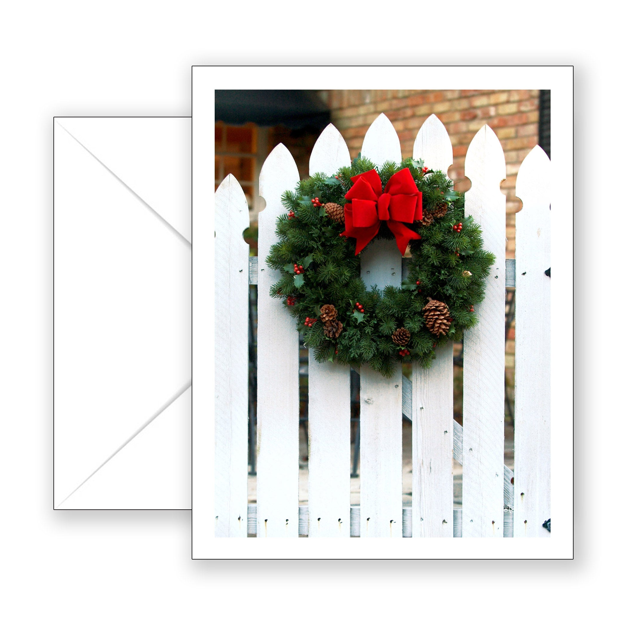 Christmas Welcome Notecard