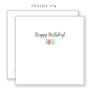 Delightful You - Birthday Card