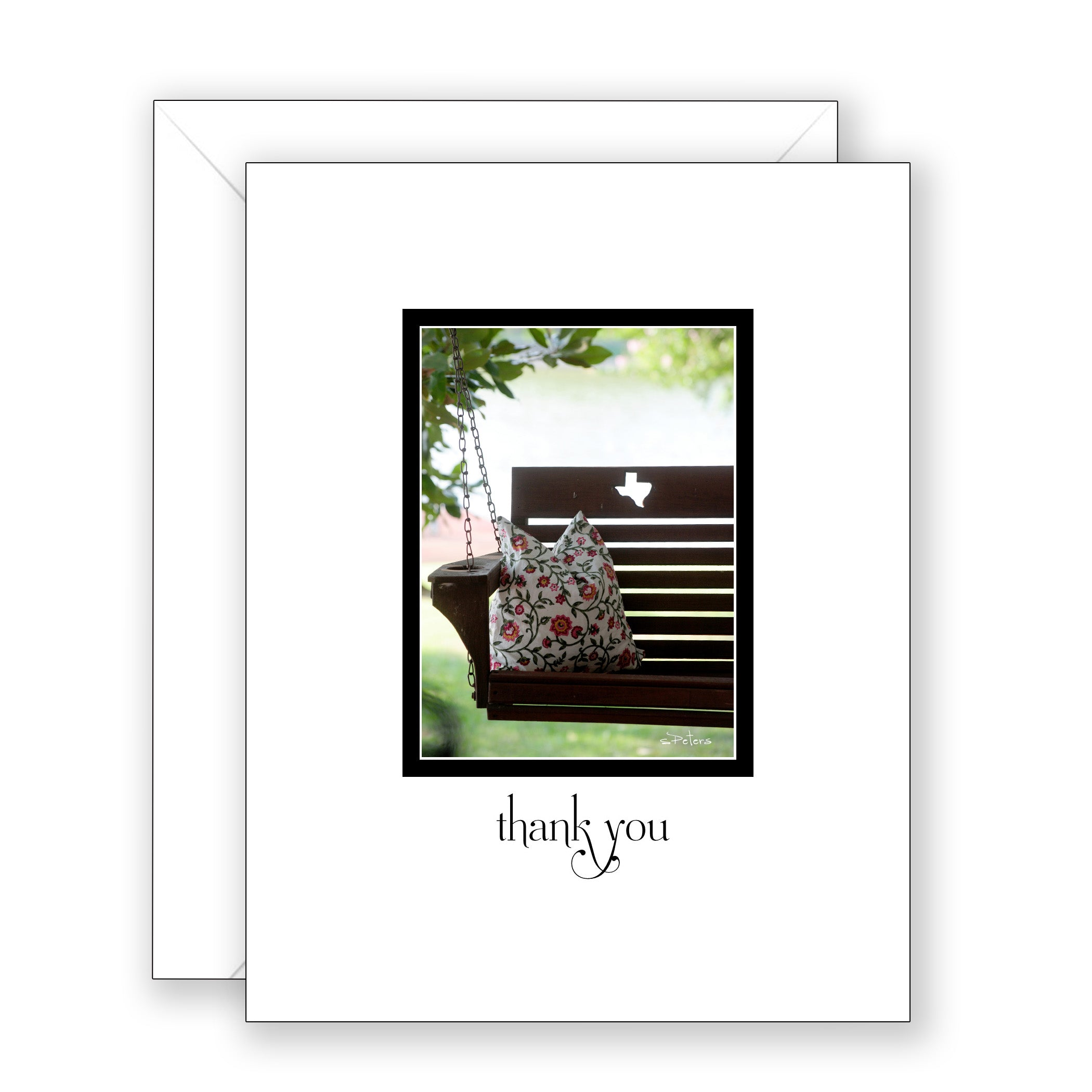 Dixie's Porch - Thank You Card