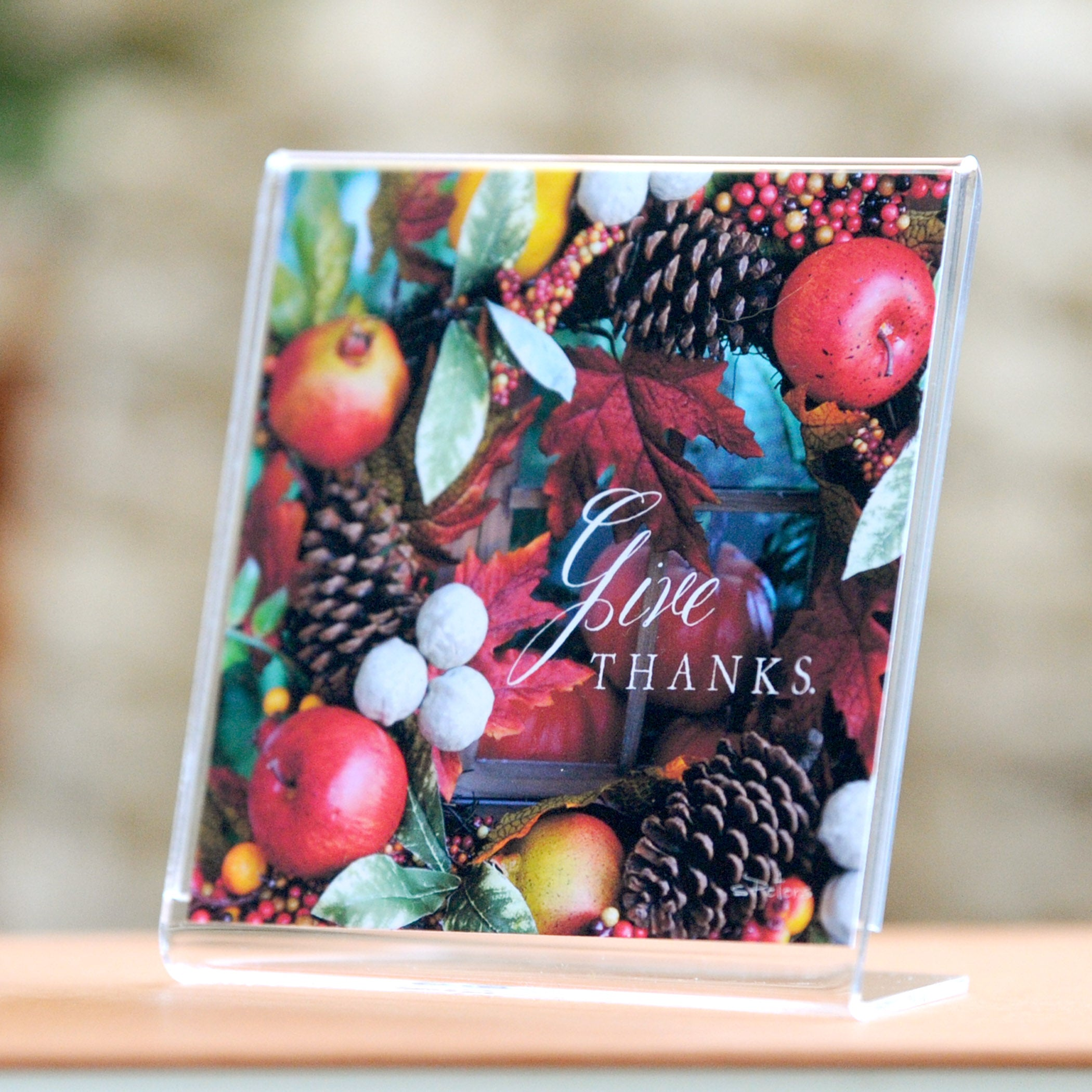 Give Thanks - Framed Mini Print