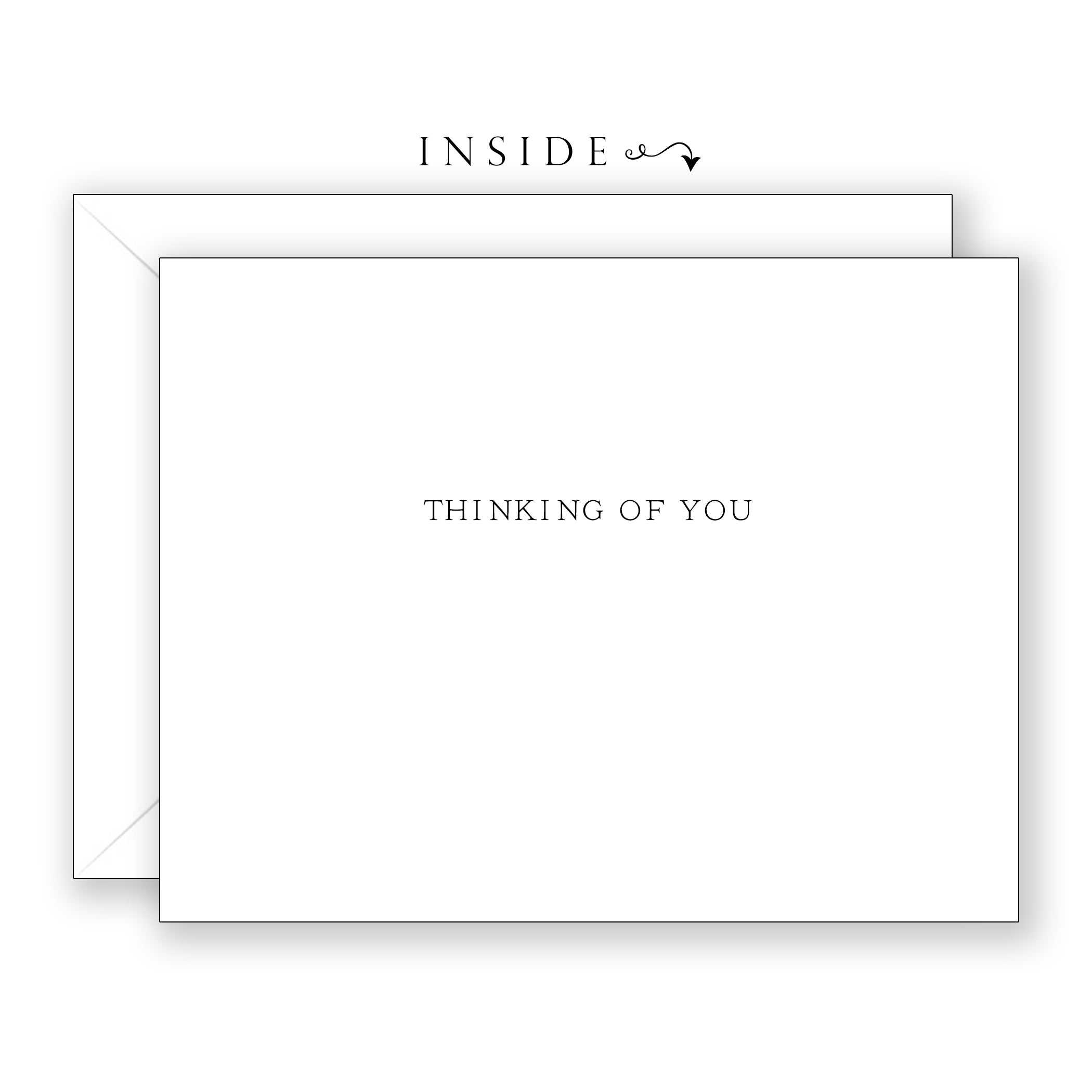 Bradford Pear - Thinking of You Card