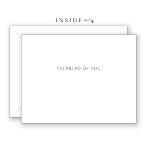 Iron Cross in the Garden - Thinking of You Card