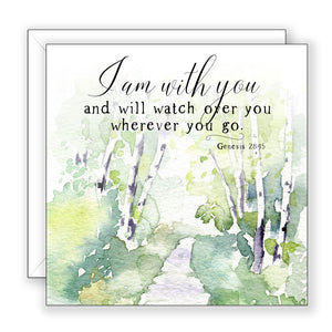 I Am With You - Encouragement Card