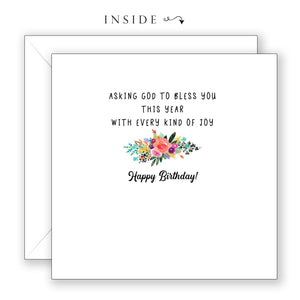 Immeasurably More - Birthday Card