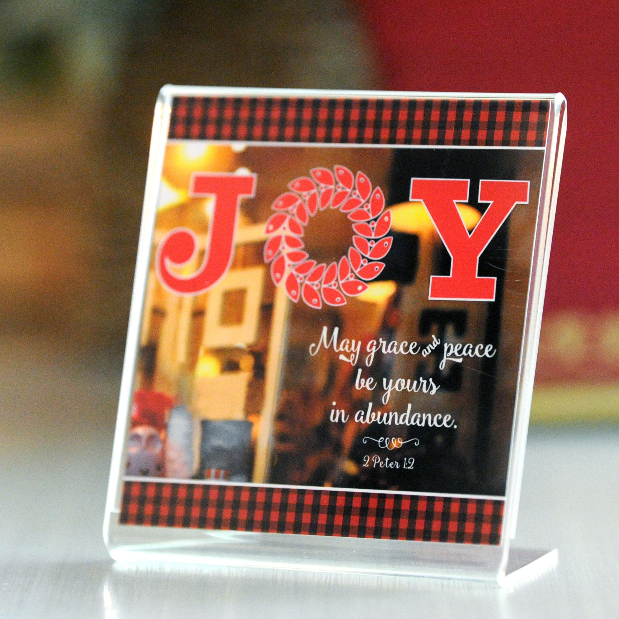 Joy and Peace - Framed Mini Print