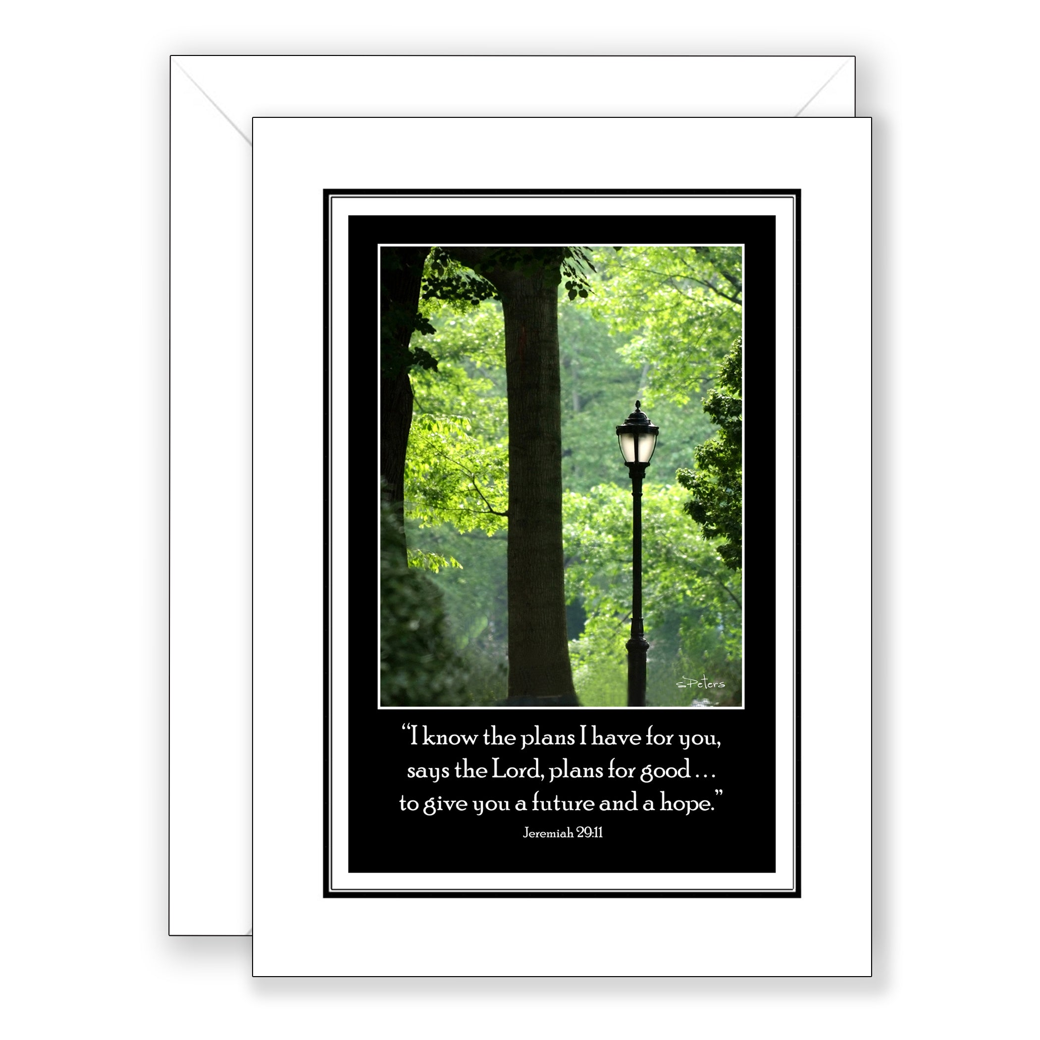 Light in the Park - New Beginnings/Graduation/Retirement Card