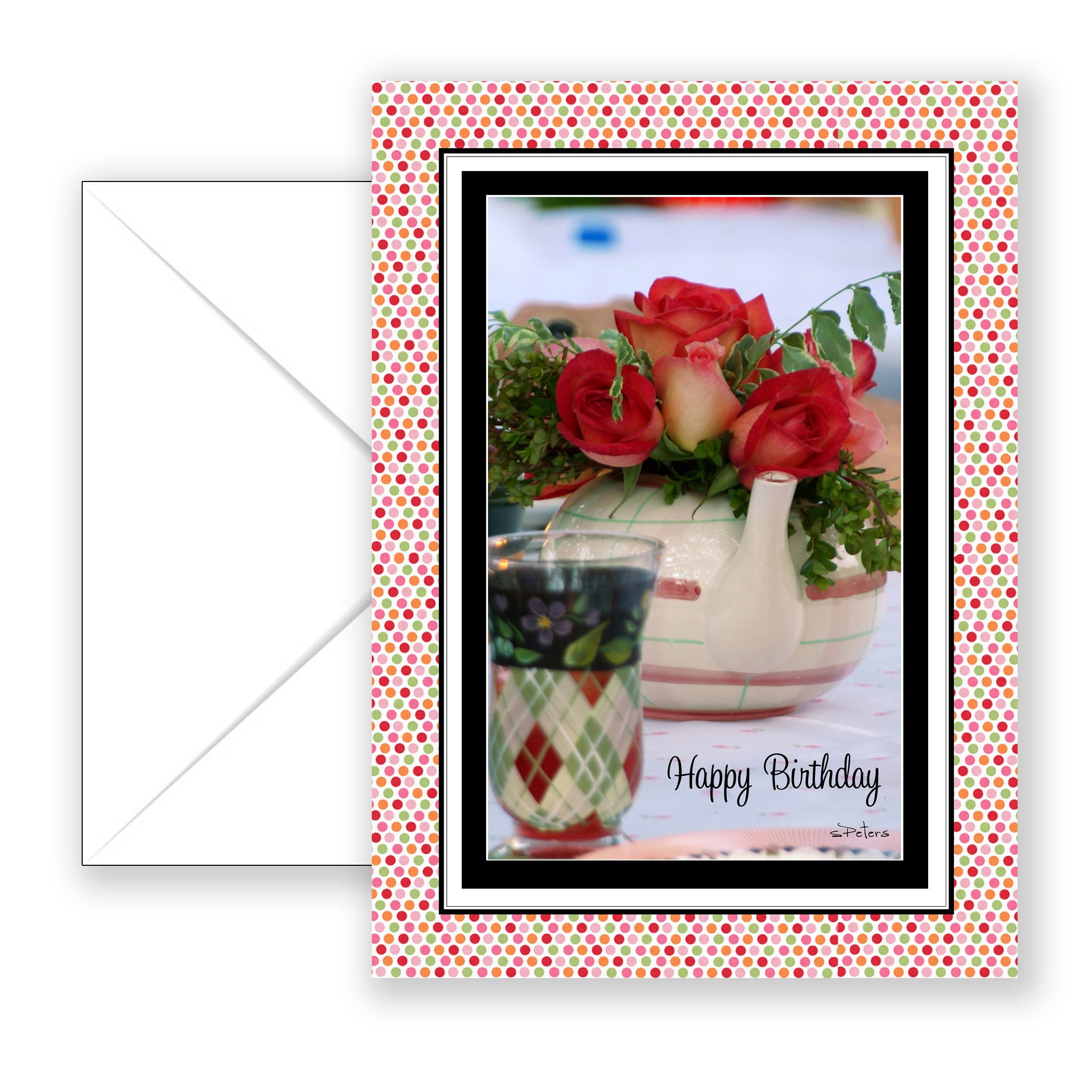 Lunch With You - Birthday Card