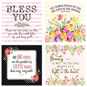 Little Lifts - 31 Days of Little Thoughts to Lift Your Spirit Boxed Mini Print Collection with Acrylic Holder