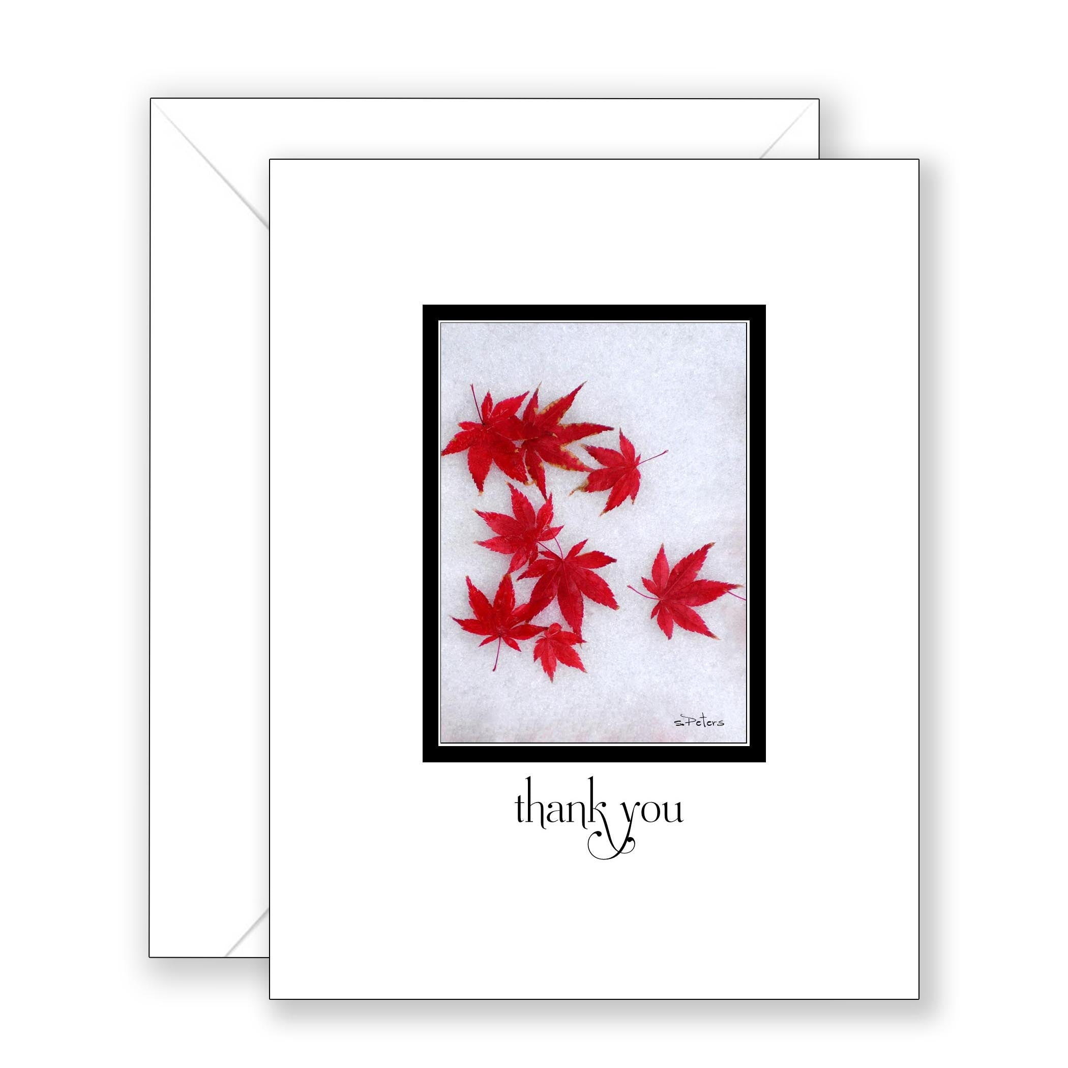 Maple Ice - Thank You Card
