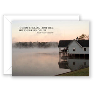 Morning Mist - Sympathy Card