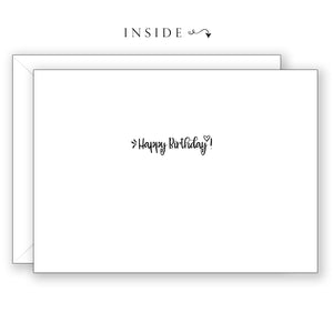 Morning Monarch - Birthday Card