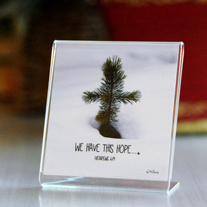 Pine Cross - Framed Mini Print