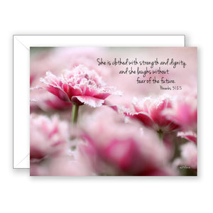 Pink Dignity - Encouragement Card (Blank)