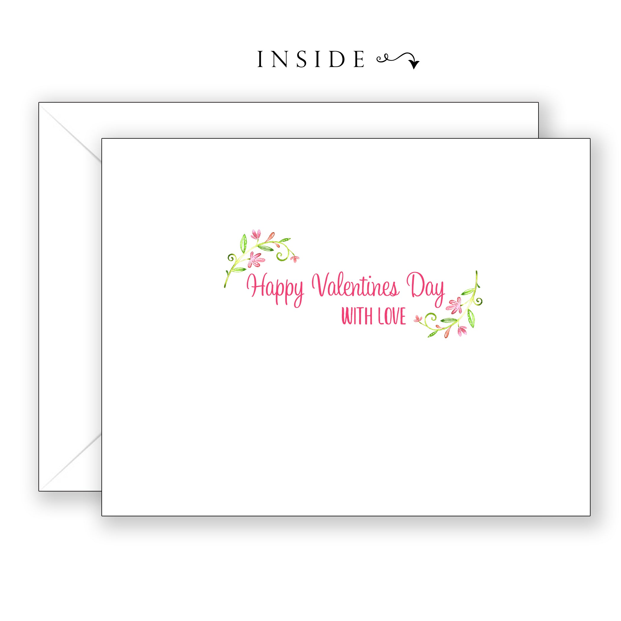 Pink Love - Valentines Day Card