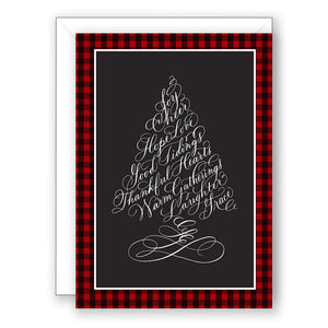 Pretty in Ink - Christmas Card