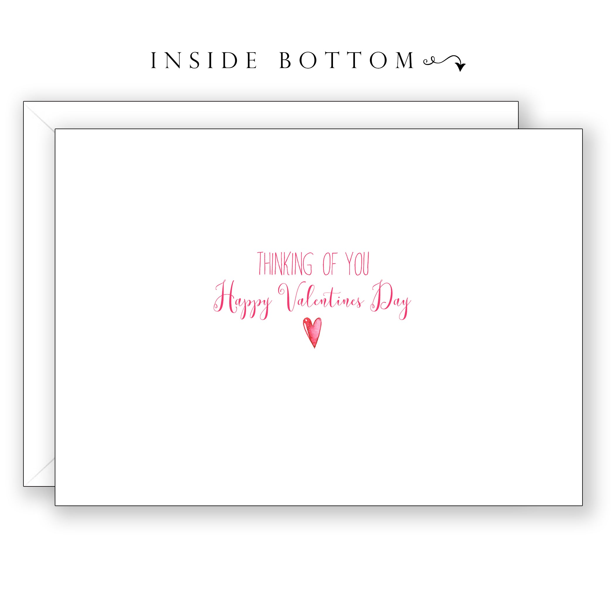 Raindrops on Roses - Valentines Day Card