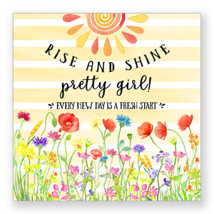Rise and Shine - Frameable Print