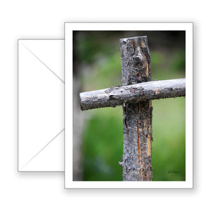 Rugged Cross Notecard