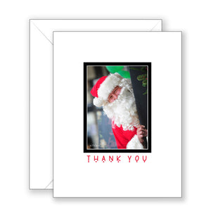 Santa Smiles - Thank You Card