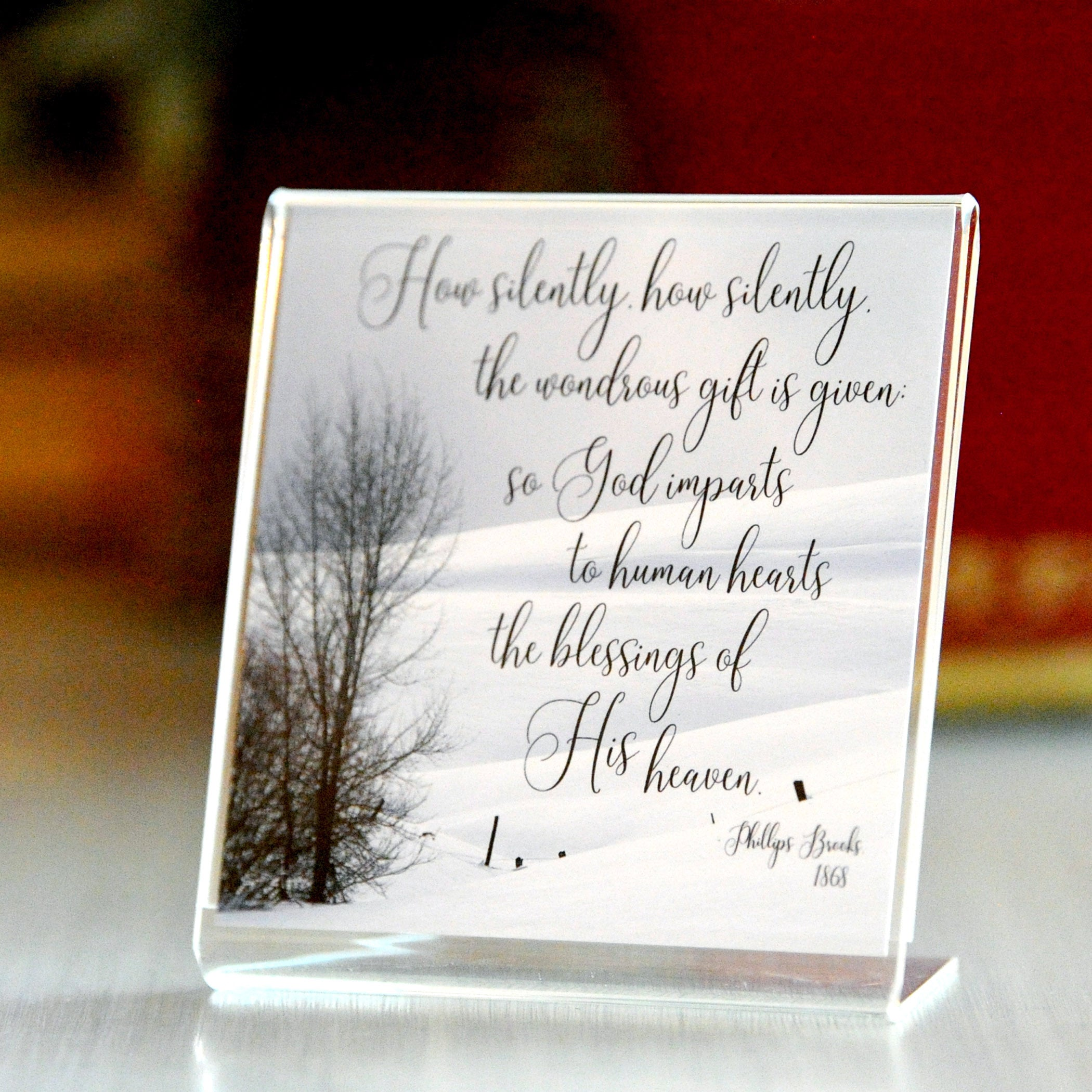Snowlight - Framed Mini Print