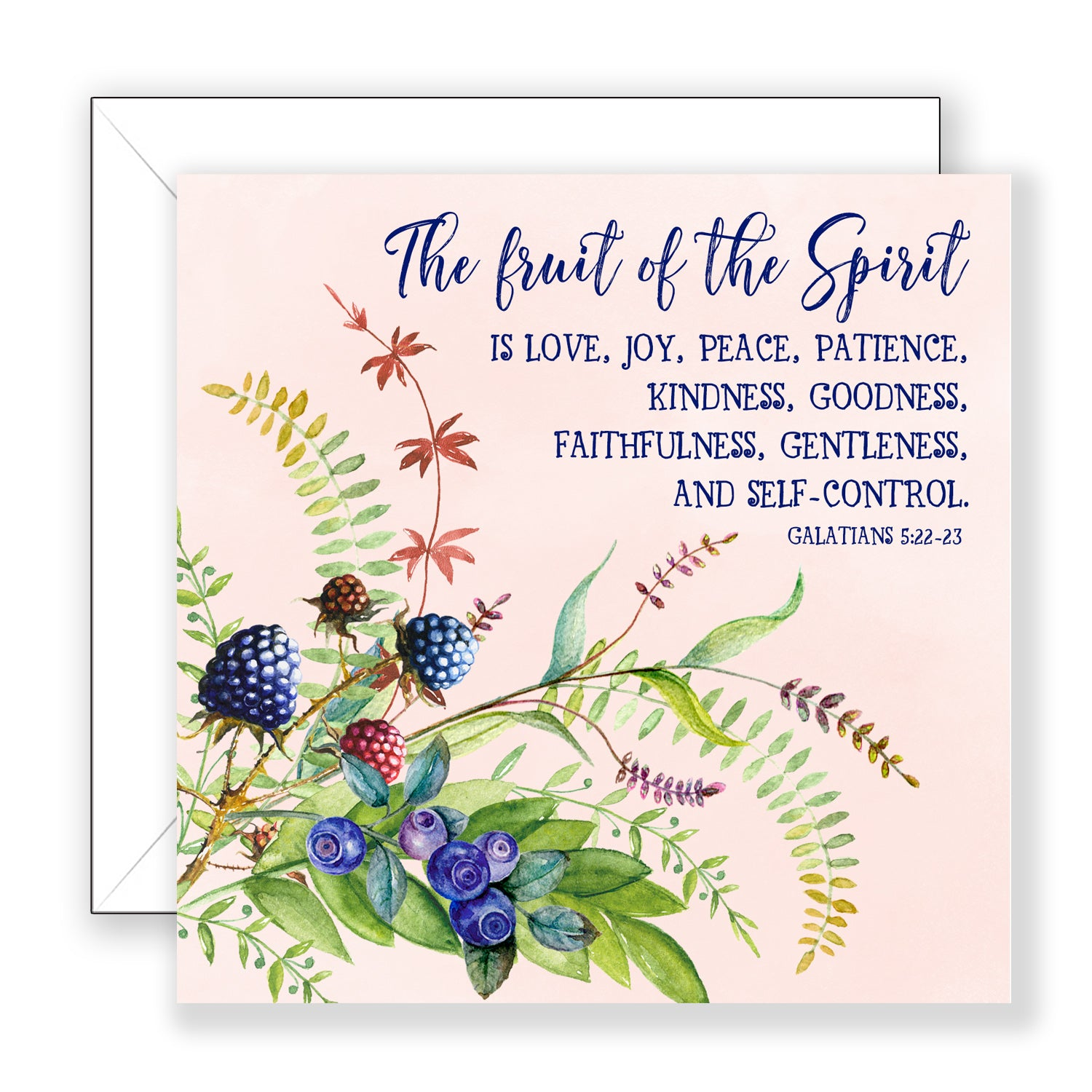 The Fruit of the Spirit - Encouragement Card