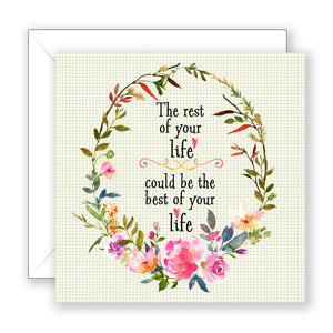 The Rest of Your Life - Encouragement Card