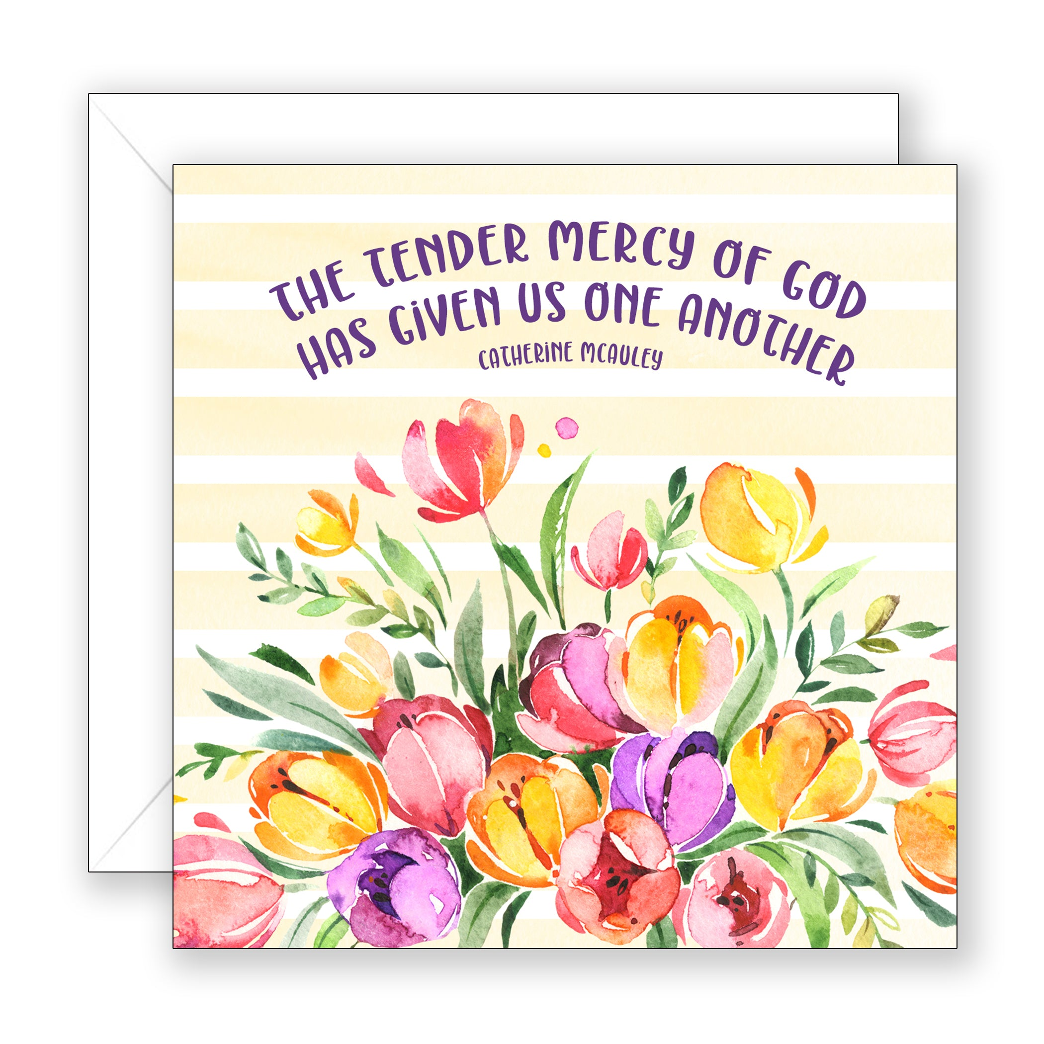 The Tender Mercy - Encouragement Card