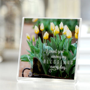Truckloads of Tulips - Framed Mini Print