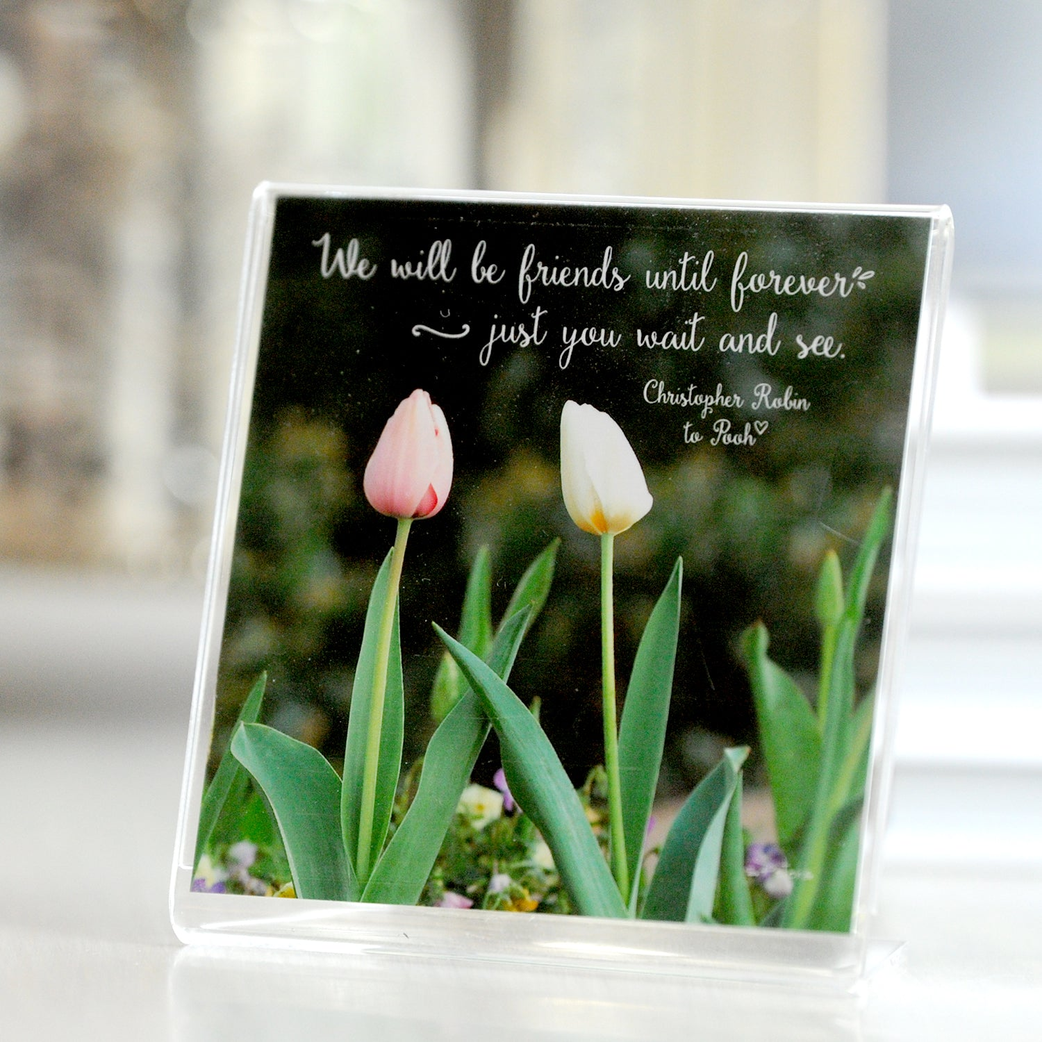Twin Tulips - Framed Mini Print