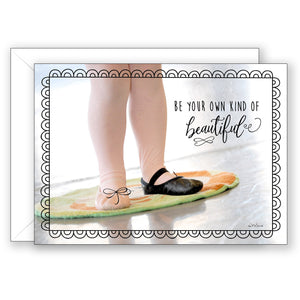 Twinkle Toes - Birthday Card
